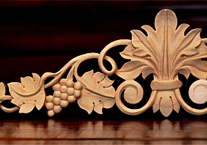 Furniture Onlays. These Are Hand Carved Appliques For Furniture That Can Be  Incorporated Into The Structure Of The Piece   For Example In Carved Ball  And ...